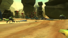 The Augmented wildlife mirrors some of the combat spawning from closeby with non-Augmented enemies.