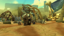 Pell spawned near cages the player needs to unlock during a sidequest earlier in the episode.