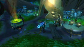 Players raid the Wildfall Pell's home for answers, but after completing the questline, the Pell become neutral and no longer fight without provocation.