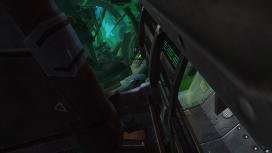 Though Explorers have access to an additional area inside the vessel, all players can climb branches to see more of the wreck.