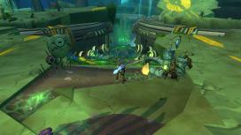 The players eventually dig deep into an Eldan exolab, seeking further jump puzzles.